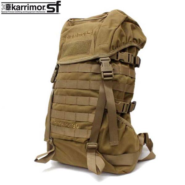 正規取扱店 karrimor SF(カリマースペシャルフォース) PREDATOR 30 MODULAR(プレデター30モジュラー リュックサック) COYOTE KM015