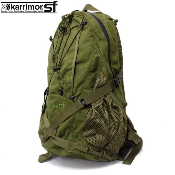 正規取扱店 karrimor SF(カリマースペシャルフォース) SABER DELTA 25(セイバーデルタ25 リュックサック) OLIVE KM002