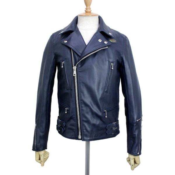 正規取扱店Lewis Leather(ルイスレザー) No.391T LIGHTNING TIGHT FIT(ライトニング タイトフィット) DARK BLUE ダークブルー