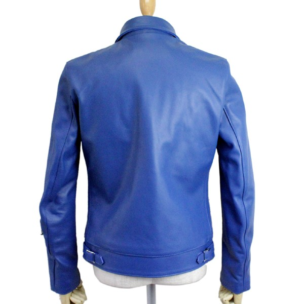 正規取扱店Lewis Leather(ルイスレザー) No.551T DOMINATOR TIGHT FIT(ドミネータータイトフィット) BLUE ブルー