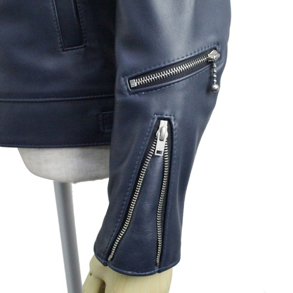 正規取扱店Lewis Leather(ルイスレザー) No.551T DOMINATOR TIGHT FIT(ドミネータータイトフィット) DARK BLUE ダークブルー