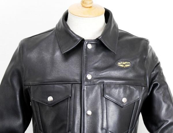 正規取扱店 Lewis Leather(ルイスレザー) No.988 WESTERN JACKET ウエスタンジャケット BLACK ブラック