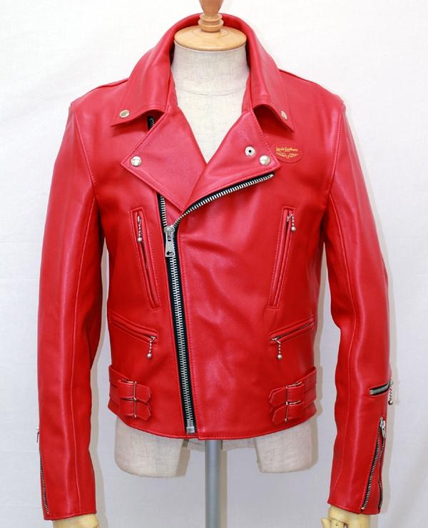 正規取扱店Lewis Leathers(ルイスレザー) No.391 LIGHTNING(ライトニング) RED レッド