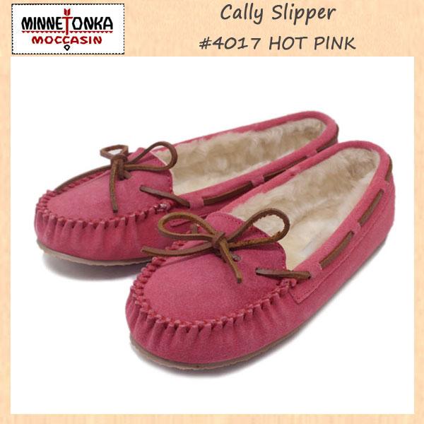 正規取扱店 MINNETONKA(ミネトンカ) Cally Slipper(キャリースリッパ) #4017 HOT PINK レディース MT266