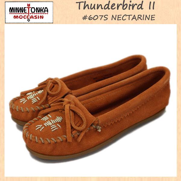 正規取扱店 MINNETONKA(ミネトンカ)Thunderbird II(サンダーバードII) #607S NECTARINE レディース MT302