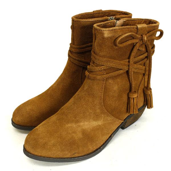 正規取扱店 MINNETONKA(ミネトンカ) Mesa Boot(メサブーツ) #83032 BROWN レディース MT372
