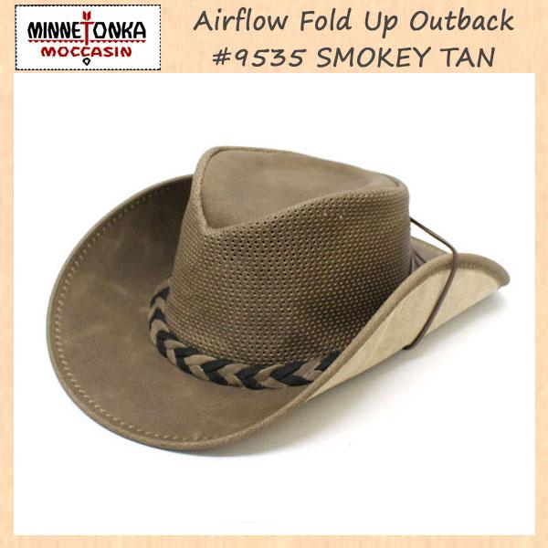 正規取扱店 MINNETONKA(ミネトンカ) Airflow Fold Up Outback Hat(エアフローフォールドアップアウトバックハット) #9535 S.TAN MT120
