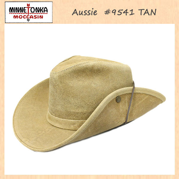 正規取扱店 MINNETONKA(ミネトンカ) Aussie Hat(オージーハット) #9541 TAN MT122