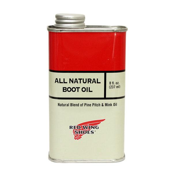 正規取扱店 RED WING(レッドウィング) 97103 オールナチュラルブーツオイル(高品質保革オイル)