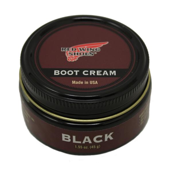 正規取扱店 RED WING(レッドウィング) 97111 ブーツクリーム (ツヤ出し 保革クリーム) BLACK ブラック