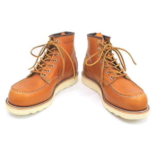 2011-2012新作 正規代理店 REDWING (レッドウィング) 9875 6inch CLASSIC MOC TOE ブーツ ゴールドラセットセコイア 犬タグ