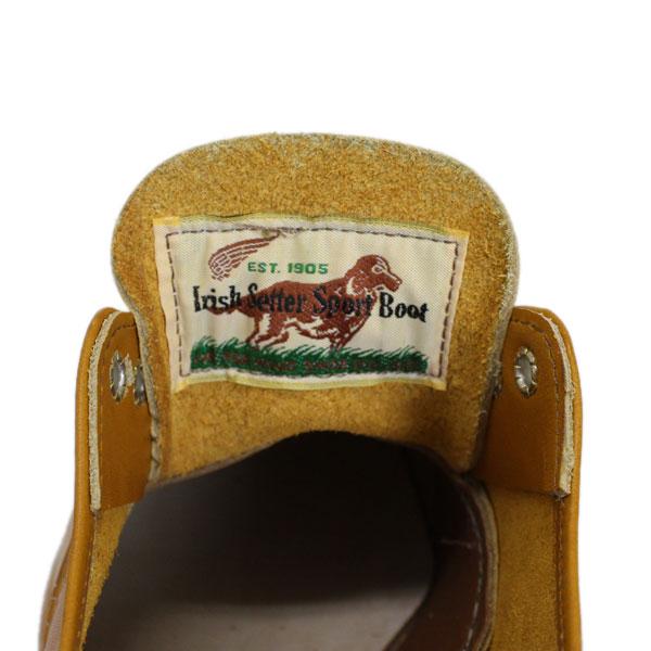 2015新作 REDWING(レッドウィング) 9895 Irish Setter Oxford(アイリッシュセッターオックスフォード) ゴールドラセットセコイア 犬タグ
