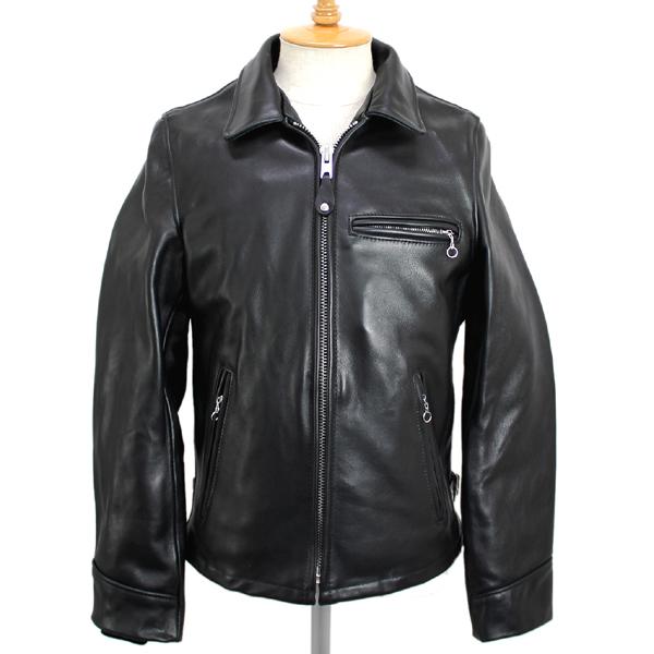 正規取扱 SCHOTT(ショット) LEATHER TRUCKER JACKET(レザートラッカー ジャケット)BLACK ブラック