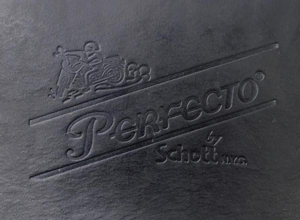 正規取扱SCHOTT(ショット) PERFECTO WALLET(パーフェクトウォレット) BLACK ブラック