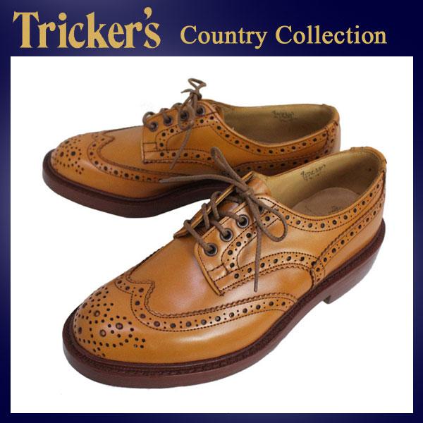 正規取扱店 Tricker's トリッカーズ 5633M COUNTRY BOURTON(カントリーバートン) ダブルレザーソール エイコンアンティーク TK002