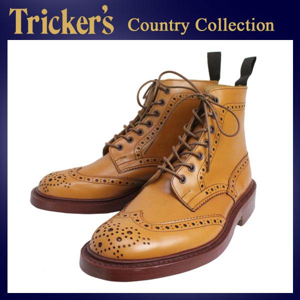 正規取扱店 Tricker's トリッカーズ 2508M COUNTRY BROGUE(カントリーブローグ) ダブルレザーソール ブエイコンアンティーク TK010