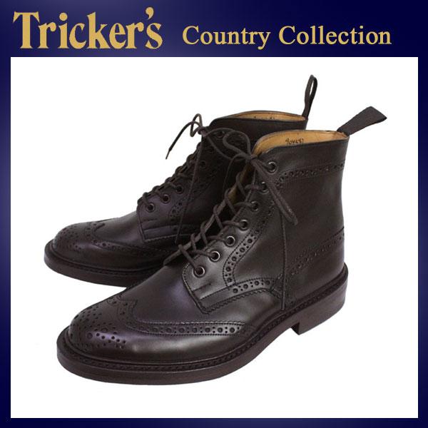 正規取扱店 Tricker's トリッカーズ 2508M COUNTRY BROGUE(カントリーブローグ) ダイナイトソール エスプレッソバーニッシュ TK023