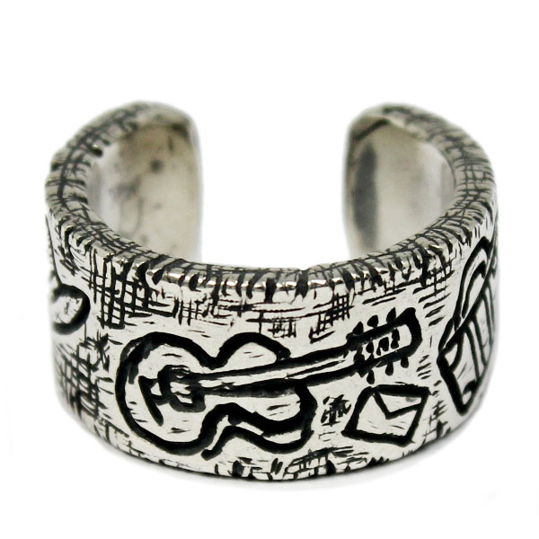 VASSER(バッサー)Sketch Ring(スケッチリング) [男の旅] 小指向けフリーサイズ