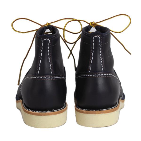 正規 Wescoウエスコ Jobmasterジョブマスター Navyネイビー Leather, Semi Lace to Toe, 6height,#1010sole JM44