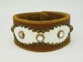 正規取扱HTC #53 Overlay Peanuts White Snake Bracelet(オーバーレイピーナツホワイトスネークブレスレット)ライトブラウン