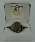 正規販売店HTC(Hollywood Trading Company) Mexican Ring(メキシカンリング) INDIAN(インディアン) Bronze Oval Body