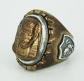 正規取扱HTC Mexican Ring(メキシカンリング) PHARAOH(ファラオ) Bronze Oval Body(ブロンズオーバルボディー)
