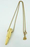 正規取扱店SPEAR(スピアー) 124G Bullet(バレット) 24K Gold Vermeil(24金メッキ) 18インチ