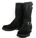 Wescoウエスコ 正規ディーラー Boss ボス Black Rough Out,11height,#430 sole,2straps,