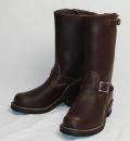 正規ディーラー Wescoウエスコ Boss ボス Brown,11height,#430 sole,Brown ink,エンジニアブーツ