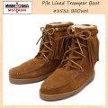 正規取扱店 MINNETONKA(ミネトンカ) Pile Lined Tramper Boot(ボア付きトランパーブーツ) #3532 BROWN レディース MT256