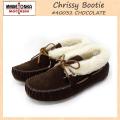 正規取扱店 MINNETONKA(ミネトンカ) Chrissy Bootie(クリッシーブーティ) #40032 CHOCOLATE レディース MT041