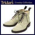 正規取扱店 Tricker's トリッカーズ 2508M COUNTRY BROGUE(カントリーブローグ) ダブルレザーソール オートミールレペロスエード TK014