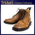 正規取扱店 Tricker's トリッカーズ 2508M COUNTRY BROGUE(カントリーブローグ) コマンドソール 1001バーニッシュ TK020