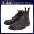 正規取扱店 Tricker's トリッカーズ 2508M COUNTRY BROGUE(カントリーブローグ) コマンドソール バーガンディーバーニッシュ TK021