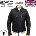 正規取扱店 Lewis Leather(ルイスレザー) No.551T DOMINATOR TIGHT FIT(ドミネータータイトフィット) BLACK ブラック
