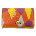 訳有り sale セール 正規 Vivienne Westwood(ヴィヴィアンウエストウッド) NEW HARLEQUIN WALLET ウォレット 財布 Style:02-94303 Color:02