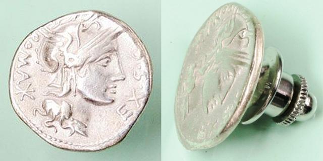 ローマ共和政 ピンズ 「ローマ神」