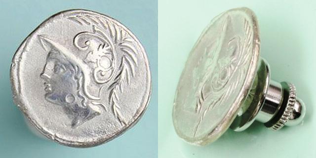 ローマ共和政 ピンズ 「マルス神」