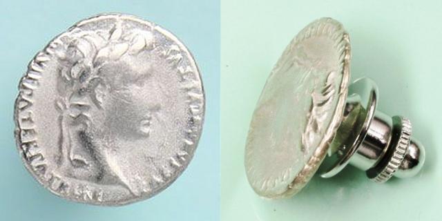 ローマ帝国政 ピンズ 「アウグストゥス」