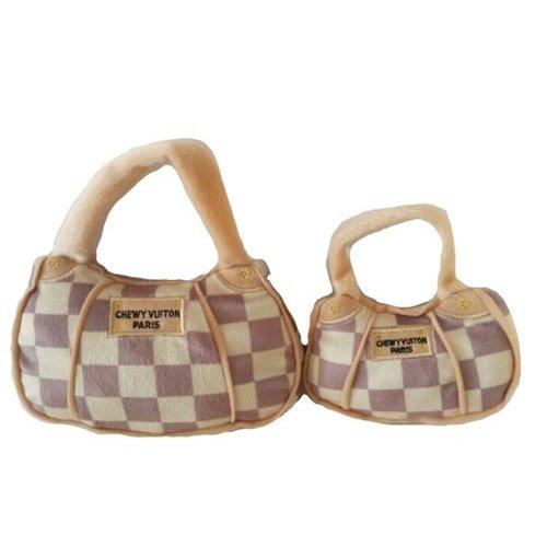 オートディ ギティドッグ Haute Diggity Dog Checker Chewy Vuiton Handbag Plush Toy