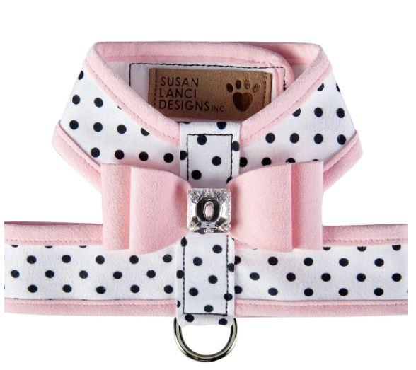 スーザンランシー Susan Lanci Designs Big Bow Tinkie Harness with Trim