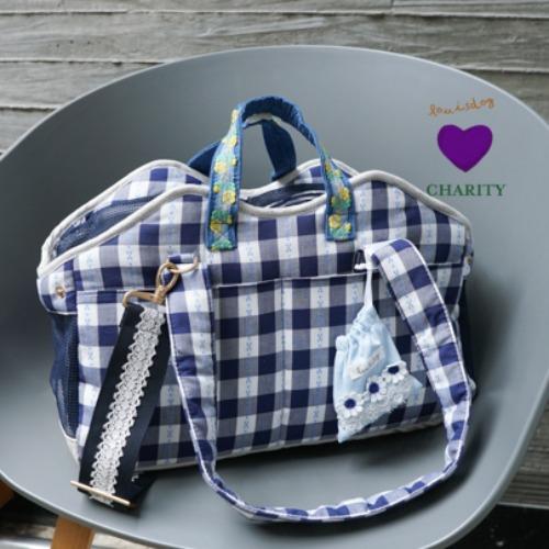 ルイスドッグ louisdog Checkerboard SWAG Bag