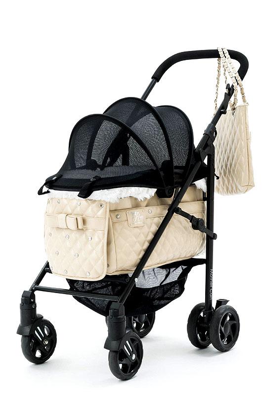Mother Cart(マザーカート) ラプレ Lサイズ RUPYコラボカート(ベージュ・前面メッシュ新型)
