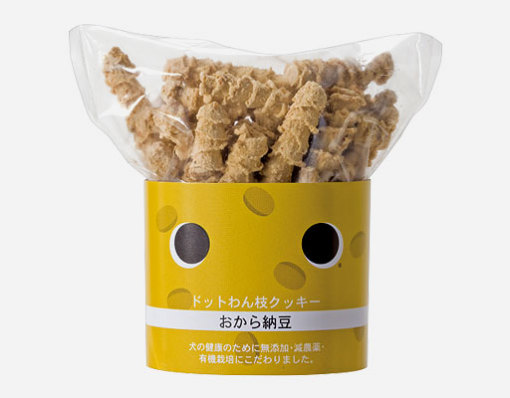 ドットわん dot wan ドットわん枝クッキーおから納豆