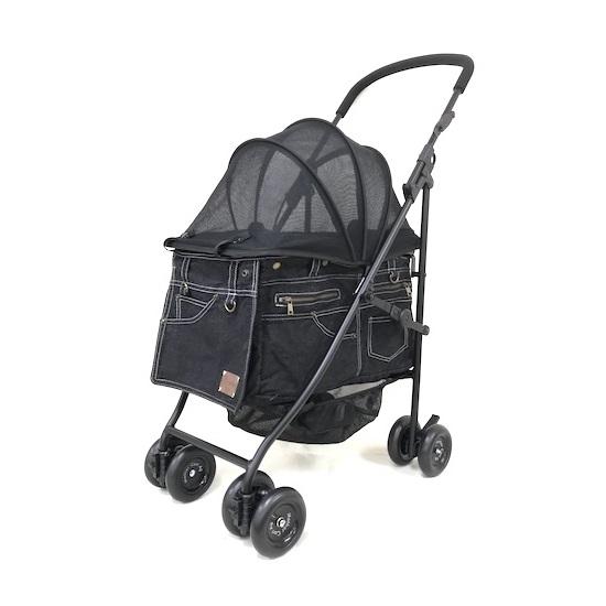 マザーカート Mother Cart アジリティー ブラックデニム ホワイトステッチ