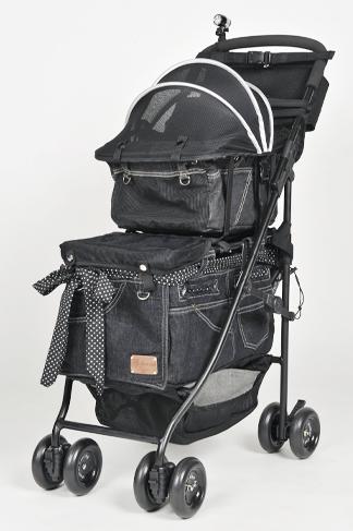 Mother Cart(マザーカート) アジリティー ブラックデニム ホワイトステッチ