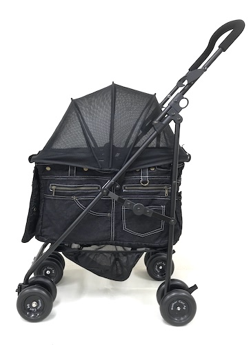 【着替用】マザーカート Mother Cart アジリティー ブラックデニム ホワイトステッチ