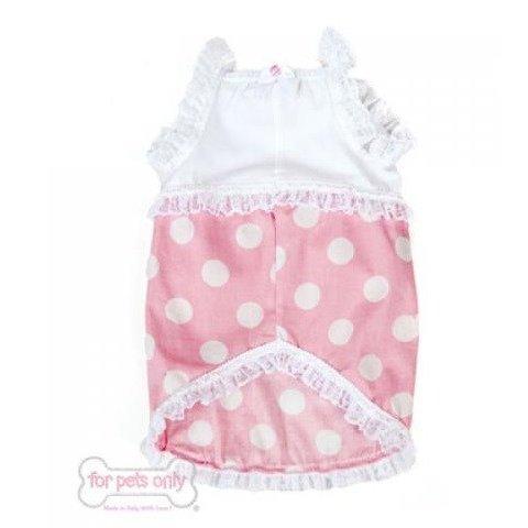 フォーペッツオンリー for pets only Ducky Dots Pink Dress PP315