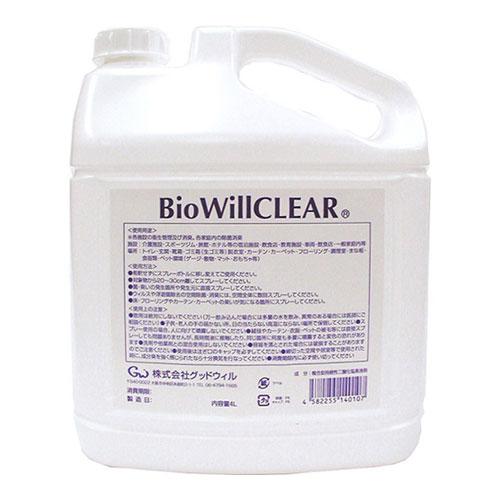 バイオウィルクリア 4L (エコボトル)