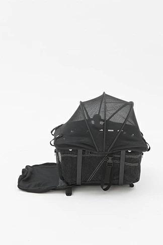 マザーカート Mother Cart アジリティー ブラックデニム ホワイトステッチ 上下段セット